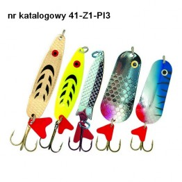 Набор блесен Robinson Pike 3 (щука) 9-23г (szczupak 3)